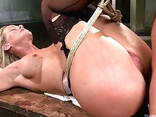 Tied Up Curvy Mummy Veronica Avluv Is Worth Some Hard-core Pounding