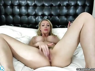 Camsoda - Nikki Benz Big Tits Onanism Orgasm