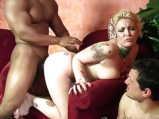 Black Penis And A Strong Jizm Are The Things That Candy Monroe Wishes