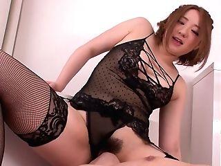Foxy Japanese Stunner Alice Ozawa Gives Facesit To Perverted Dude