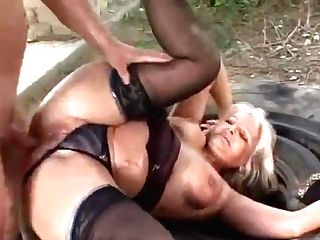 Horny Hungarian Mom Fuck A Youthfull Dude